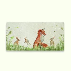 Fox And Rabbit Sharing Platter