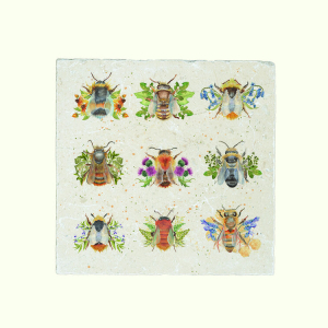 British Bees Platter Large