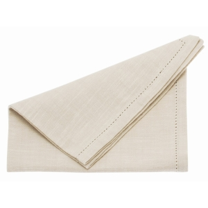 Chambray Napkin French Limestone 4 Pk