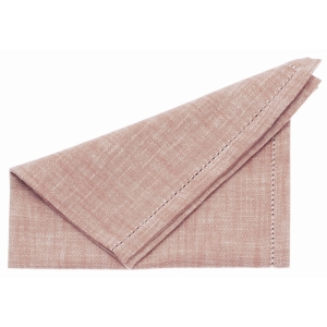 Chambray Napkin Terracotta Blush 4 Pk