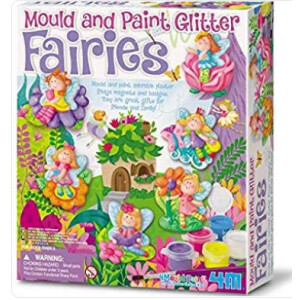 Mould And Paint Glitter Fairy