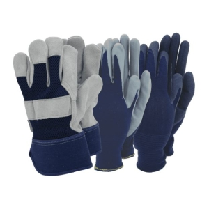 Town & Country Mens Triple Pack Gloves
