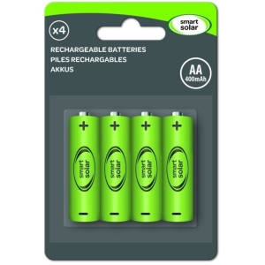 Large AA Rechargeable Batteries 600Mah 4 pack