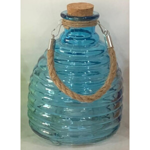 Growers Glass Wasp Trap Blue