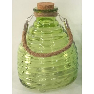Growers Glass Wasp Trap Green