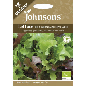 Lettuce Red+Grn Salad Bowl Mixed Org Jaz