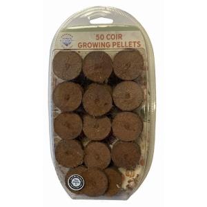 Coir Growing Pellets 50 pack