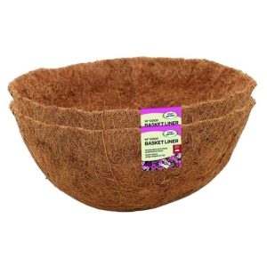 Value Twinpack Coco Basket Liners 14″