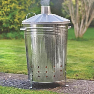 Growers Galvanised Incinerator Large 90L