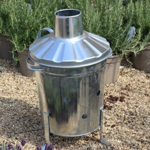 Growers Galvanised Incinerator Mini 15L