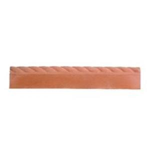 Rope Top Edging Terracotta 910mm