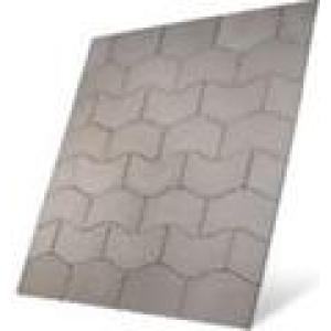 S2D Prestbury Wave Patio Kit Port Grey 5.76M²