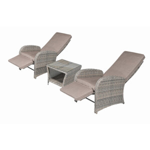 Bermuda 3Pc Reclining Bistro Set