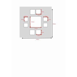 Bermuda Cube Dining Set