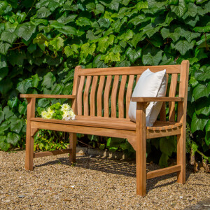 Java Curved Back Garden Bench