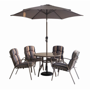 New Orleans 4 Seat Dining Set