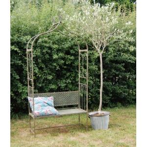 Marlborough Garden Arbour Bench Verde