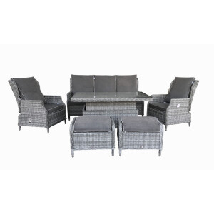 Atlanta 6 Piece Lounge Dining Set