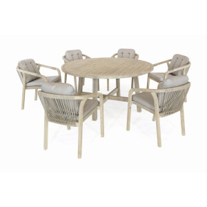 California 6 Seat Dining Set