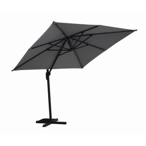 Cantilever Parasol Ash Grey 2.5×2.5m