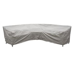 Curved Corner Sofas Cover Khaki