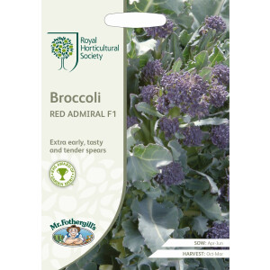 Broccoli Red Admiral F1 Rhs
