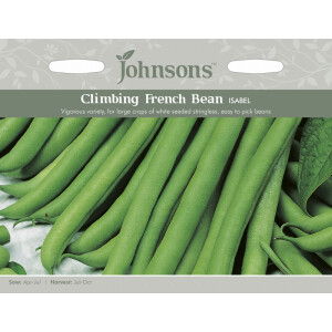 Climbing French Bean Isabel Jaz