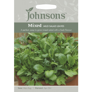 Mixed Mild Salad Leaves JAZ