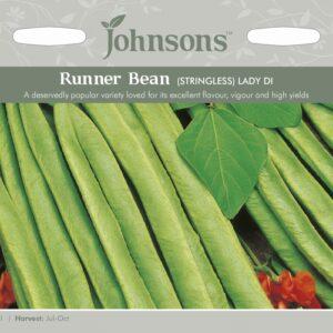 Runner Bean Lady Di Stringless JAZ