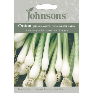 Onion Spring Wht Lisbon Winter Hardy JAZ