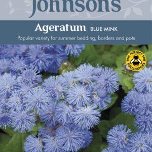 Ageratum Blue Mink Jaz