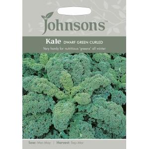 Kale Dwarf Green Curled JAZ