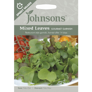 Mixed Leaves Gourmet Garnish Sp Jaz