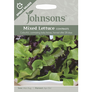 Mixed Lettuce Contrasts SP JAZ