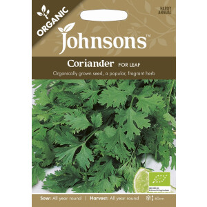 Coriander Cilantro For Leaf Org Jaz