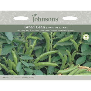 Broad Bean Dwarf The Sutton JAZ