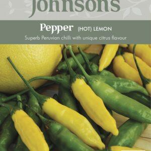 Pepper Hot Lemon Jaz