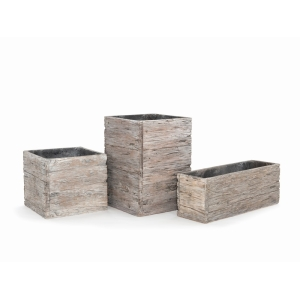 Driftwood Cube 19cm