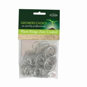 Plant Rings Zinc Coated 100pk