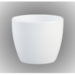 Egg Pot Cover White 18cm