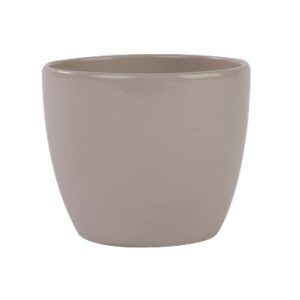 Egg Pot Cover Taupe 12cm