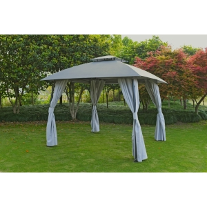 Diamond Dome Gazebo Grey