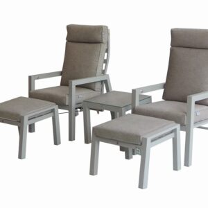 Orlando 5pc Reclining Bistro Set