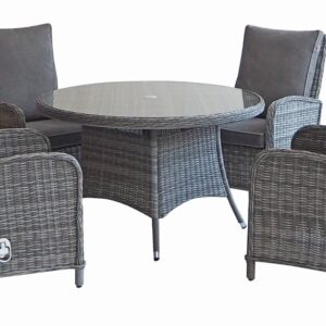 Atlanta 4 Seat Dining Set