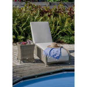 Vermont Sun Lounger and Side Table