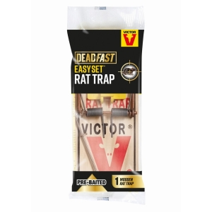Deadfast Easy Set Rat Trap Single