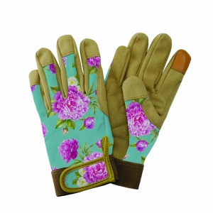 KS Comfort Gloves Peony Aqua Small