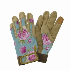 KS Comfort Gloves Peony Aqua Medium