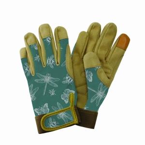 KS Comfort Gloves Flutter Bugs Teal Sml