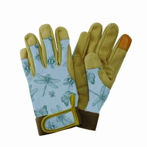 KS Comfort Gloves Flutter Bugs Blue Sml